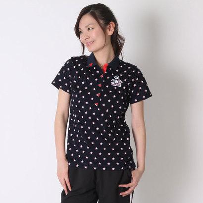 マンシング Munsing ゴルフシャツ 半袖シヤツ(ニツト) SL1694 (ネイビー)