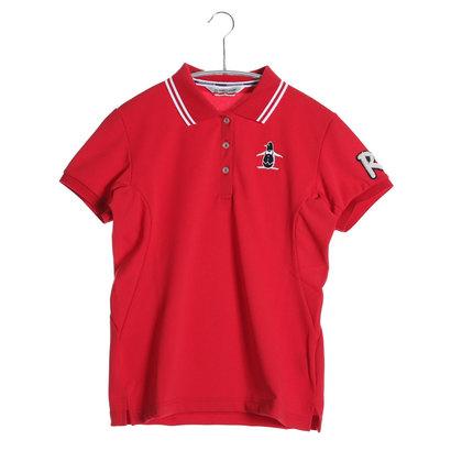 マンシング Munsing ゴルフシャツ 半袖シヤツ(ニツト) RL1556 (レッド)