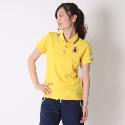 【アウトレット】マンシング Munsing ゴルフシャツ 半袖シヤツ(ニツト) RL1556 (イエロー)