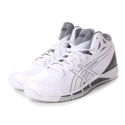 アシックス asics バスケットボールシューズ GELTRIFORCE 2-wide TBF327 ホワイト 142 (ホワイト)