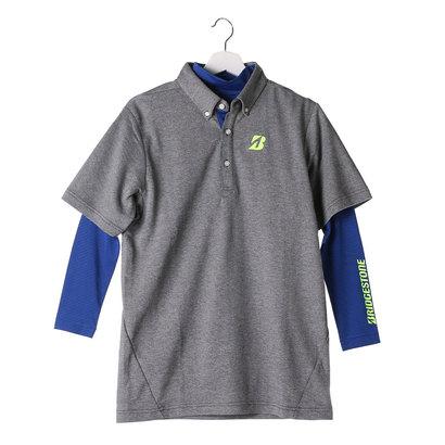 ブリヂストン BRIDGESTONE メンズ ゴルフ セットシャツ 2GEM3A