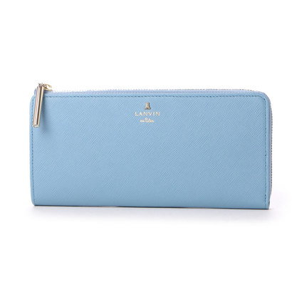 ランバン オン ブルー LANVIN en Bleu リュクサンブールカラー Lファスナー長財布 (ブルー)