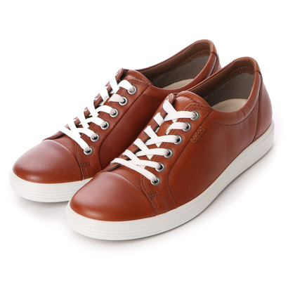 【アウトレット】エコー ECCO Womens Soft 7 Sneaker (MAHOGANY)
