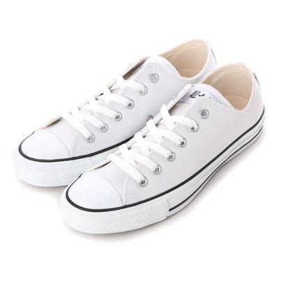 コンバース CONVERSE 1B905 レザーオールスター OX (ホワイト)