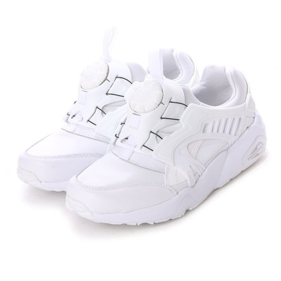 プーマ PUMA atmos TRINOMIC DISC BLAZE LEATHER (WHITE)