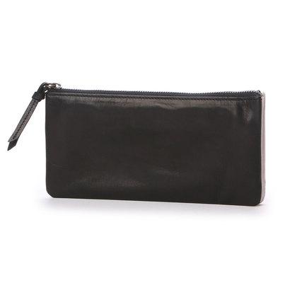 カナナラ KUNUNURRA ホースレザー三層式長財布 (ブラック)