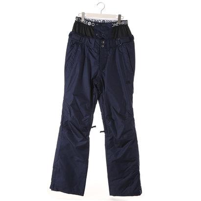 【アウトレット】ワンスリー ONE THREE レディース スノーボード パンツ CHINO PNT OTP89102 (ネイビー)