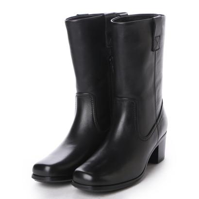 【アウトレット】イング ing ショートブーツ ING1642 (ブラック)