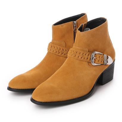 【ドレスシューズ 革靴 ビジネスシューズ メンズ インポート】 9942 ZAMPIERE ブラック 【クリアランス】 サイドゴアブーツ サンピエレ