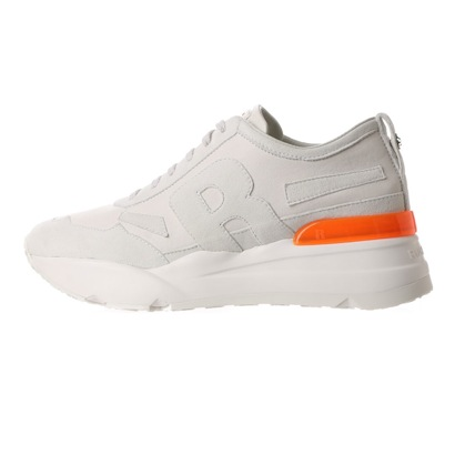 【アウトレット】ルコライン RUCO LINE 4009 LEATHER SUEDE WHITE ORANGE (WHITE ORANGE)