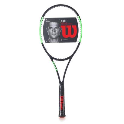 ウィルソン Wilson ユニセックス 硬式テニス 未張りラケット ブレード98 CV 16×19 WRT7335102 654