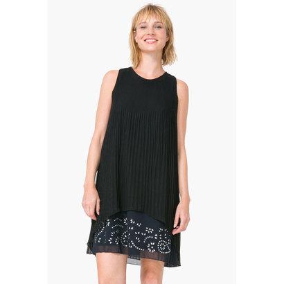 große Auswahl an Farben neueste Kollektion Heiß-Verkauf am neuesten Clothing Amazon Fashion Desigual Womens Vest_Estela B Dress
