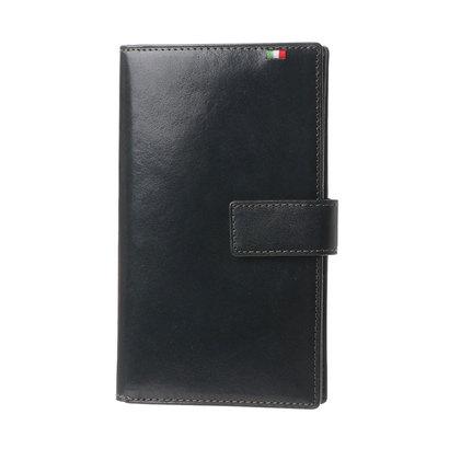 ミラグロ Milagro 30枚カード収納財布 (ネイビー)