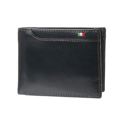 ミラグロ Milagro 21ポケット財布 (ネイビー)
