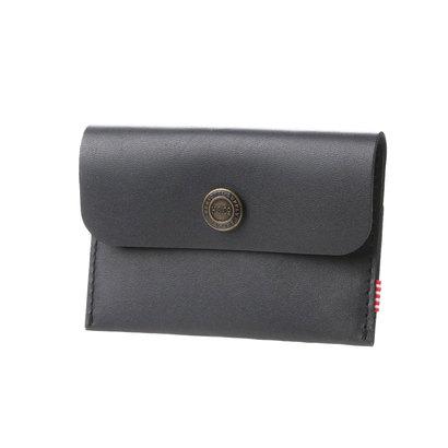 ハーシェル HERSCHEL atomos Jacks Wallet Premium Leather (BLACK)