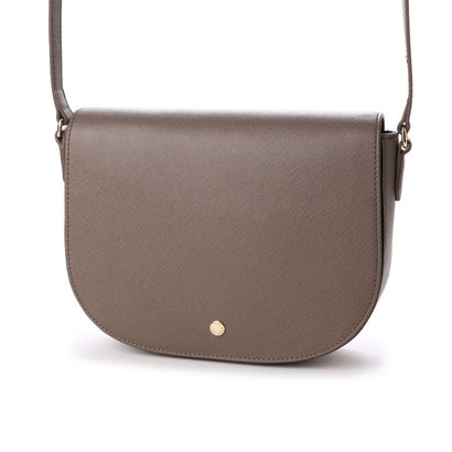 【アウトレット】エコー ECCO Iola Medium Saddle Bag (DARK CLAY)