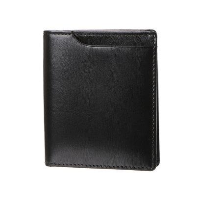 ミラグロ Milagro グレイス 薄型2つ折財布 (ボルドー)
