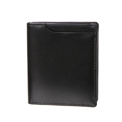 ミラグロ Milagro グレイス 薄型2つ折財布 (ネイビー)