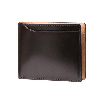 ミラグロ Milagro コードバン 2つ折り財布 (バーガンディ)
