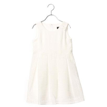 コムサイズム COMME CA ISM ジャンパースカート (ホワイト)