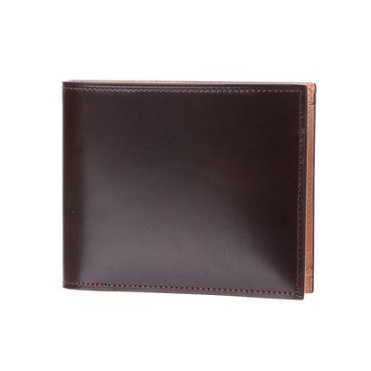 フライングホース FLYING HORSE コードバン二つ折り財布 (バーガンディ)