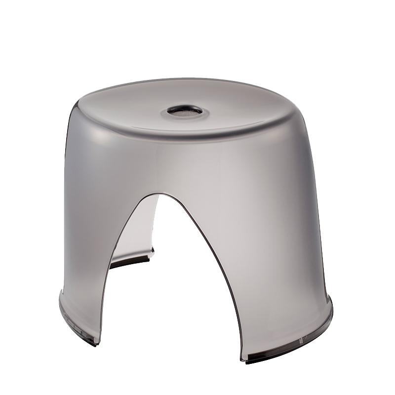 風呂椅子 アクリル フォスキア オーバル型バスチェア 風呂いす おしゃれ バスセット モダン北欧 結婚祝い 引越し祝い ギフト ルーブルダール