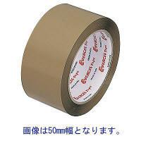 セキスイ エバーセル #830EV 茶 50mm×50M 1ケース50巻【梱包 布テープ  クラフトテープ OPPテープ 養生テープ 引越し 養生 梱包資材 梱包用品 こんぽう】