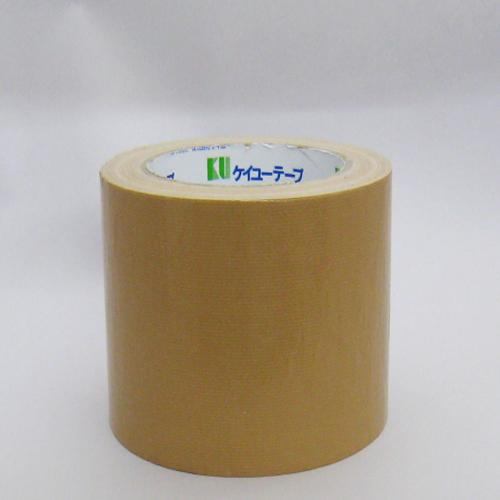 ケイユー 布テープ #801T 100mm×25M 【1ケース18巻】(梱包 布テープ  クラフトテープ OPPテープ 養生テープ 引越し 養生 梱包資材 梱包用品 包装 包装資材)■236