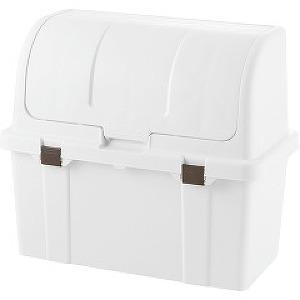 トラッシュコンテナ SP ホワイト 220L (ゴミ箱 シンプル ダストボックス おしゃれ フタ付き 大型 分別)