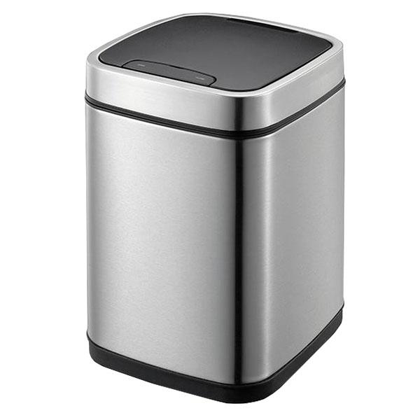 エコスマート センサービン 9L シルバー (ゴミ箱 シンプル ダストボックス おしゃれ センサー)