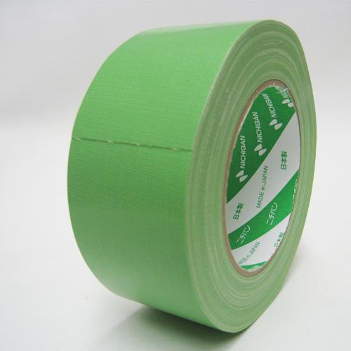 ニチバン 養生 布テープ NO104G 50mm×25M 緑 【1ケース30巻】(引越し資材 建築養生 養生 養生テープ 梱包 こんぽう 引越し 梱包資材 梱包用品 )