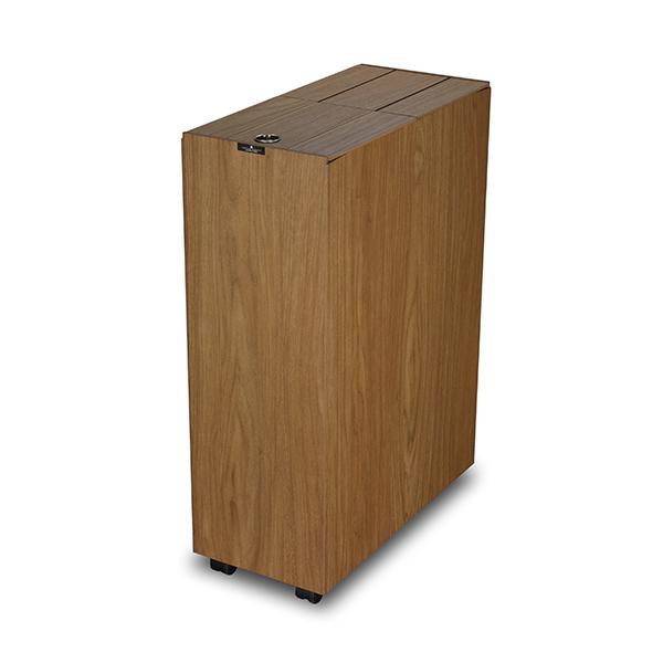 ゴミ箱 バスク BOSK キッチンベール 45L ブラウン