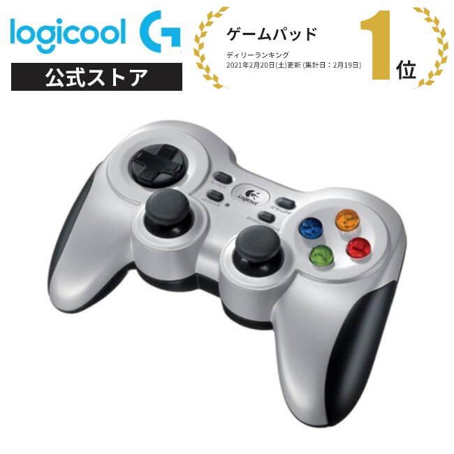 差し込むだけすぐ使える2.4GHZワイヤレス接続 Logicool G ワイヤレス 店舗 ゲームパッド PCゲーム用 国内正規品 3年間無償保証 再再販 滑らかな操作感 F710r