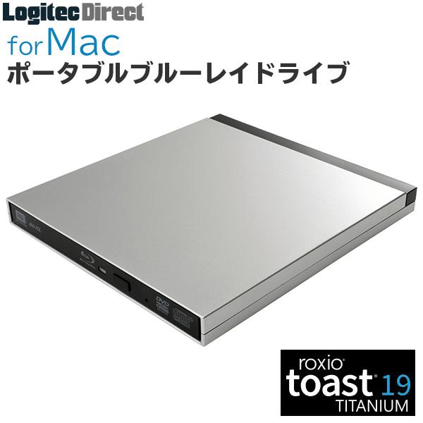 SALE ブルーレイドライブ / DVDドライブ 外付け [macOS Big Sur 11.0 対応確認済製品]ロジテック Mac / M1 Mac用 ポータブル USB3.2 Gen1(USB3.0) Type-C対応 Toast19付属 シルバー【LBDW-PUG6U3CMSV】 sod