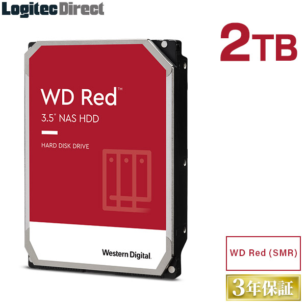 ロジテックの保証 無償ダウンロード可能なソフト付 WD20EFAX-RT WD20EFAX-EC WD Red WD20EFAX 内蔵ハードディスク SMR 商舗 2TB ウエデジ LHD-WD20EFAX 営業 Western 3.5インチ ウエスタンデジタル Digital HDD