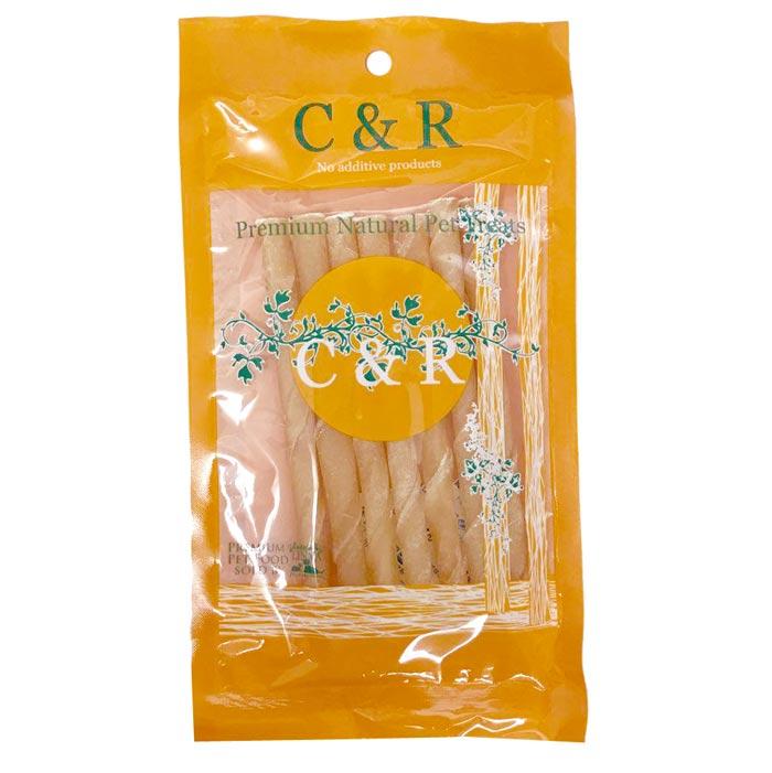 【正規輸入品】C&R スティックロールナチュラル 犬用 (7本入り)