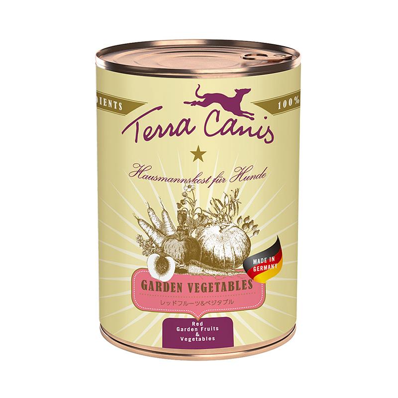 【正規輸入品】TerraCanis(テラカニス) ガーデンベジタブル レッドフルーツ&ベジタブル 犬用 400g