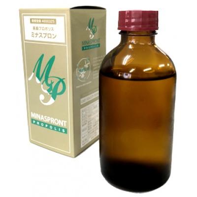 最高級のブラジリアン・フレッシュ・ウルトラグリーン使用 高濃度プロポリス ミナスプロン プラス 飲用 200cc