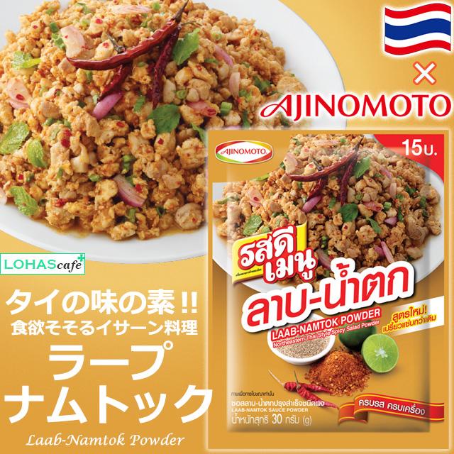 最新 タイ料理なら タイ Ajinomoto社の味の素 タイの味の素 RosDEE Menu Northestern Thai Powder ラープナムトック風味 ロスディーメニュー 10袋セット Salad メーカー公式ショップ Spicy Style