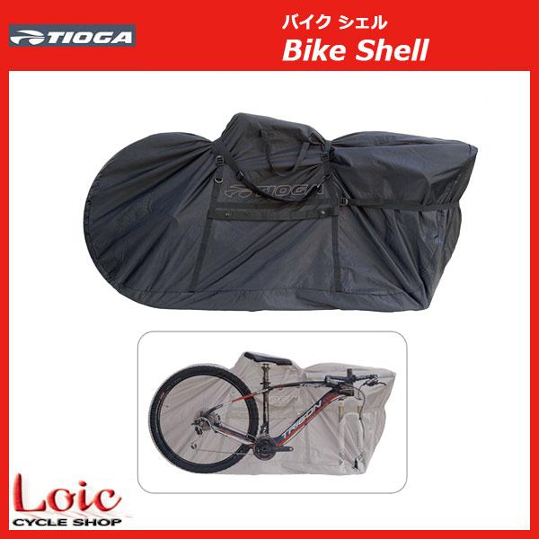 自転車 輪行袋 キャリーバッグ TIOGA ( 29インチ車対応 輪行袋 ) 自転車 自転車専門店 loic 自転車 輪行バック オンラインストア バイクシェル Bike Shell 【輪行袋】TIOGA タイオガ BAR03200 キャリングバッグ 自転車