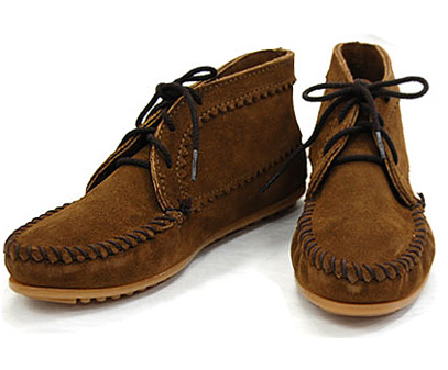 Minnetonka MINNETONKA Suede Ankle Boot suede lace up ankle boots shoes 270 272 273