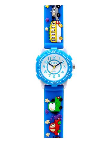 時計子供用 バンドにキュートなデザイン柄キッズ腕時計 子供用腕時計 キッズ時計 キッズウォッチ 驚きの価格が実現 プレゼントに最適卒園記念など大量受注実績あり サンフレイム 腕時計 キッズ キッズ腕時計 保育園 入学 入学祝い 時計 小学校 幼稚園 子供用時計入園 卒園記念 お見舞い 水色 クルマ
