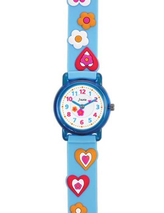 サンフレイム 腕時計 流行のアイテム キッズ腕時計 子供用腕時計 キッズ時計 キッズウォッチ サックスブルー ハート 時計 入園 お祝い 卒園記念 保育園 入学 子供用時計 キッズ 入学祝い 幼稚園 小学校 時計子供用 中古