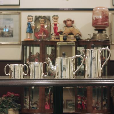 【中古】Mappin&Webb(マッピン&ウェッブ)ティーセット MW-62【送料無料】【アンティーク】【英国製】