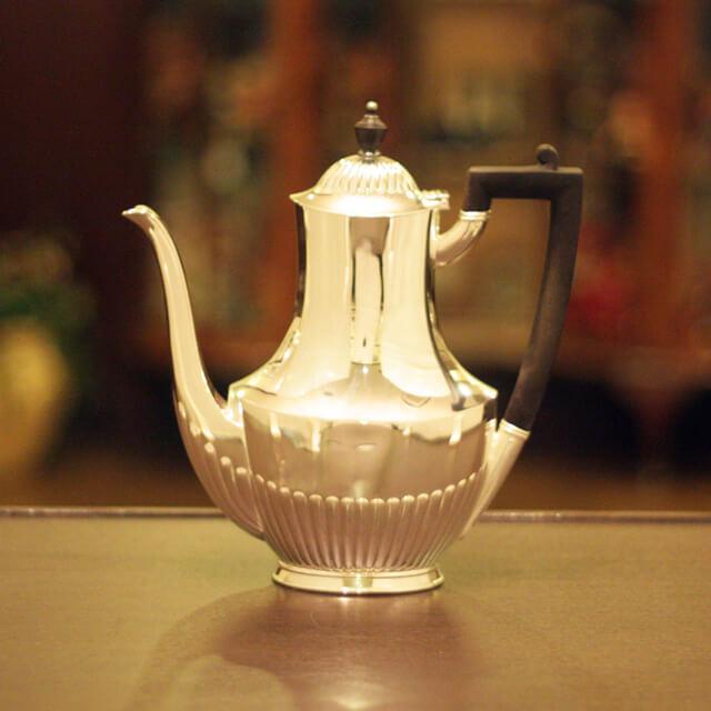 【中古】Tiffany(ティファニー)家庭用コーヒーポット tf-52【送料無料】【アンティーク】【英国製】