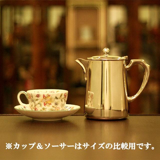 【中古】SHEFFIELD(シェフィールド) 業務用コーヒーポット sh-869【アンティーク】【イギリス製】【シルバー】