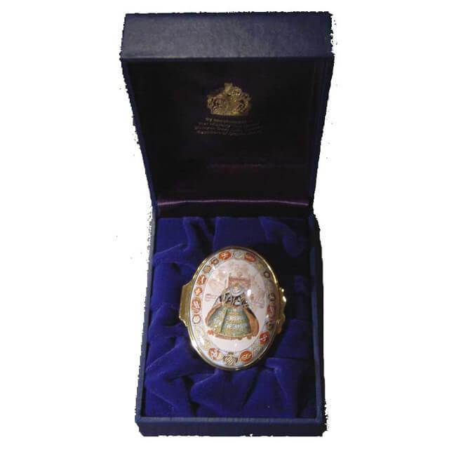 Elizabeth 1 Enamel Box(エリザベス1世エナメル製小箱)【オックスフォード大学コレクション】