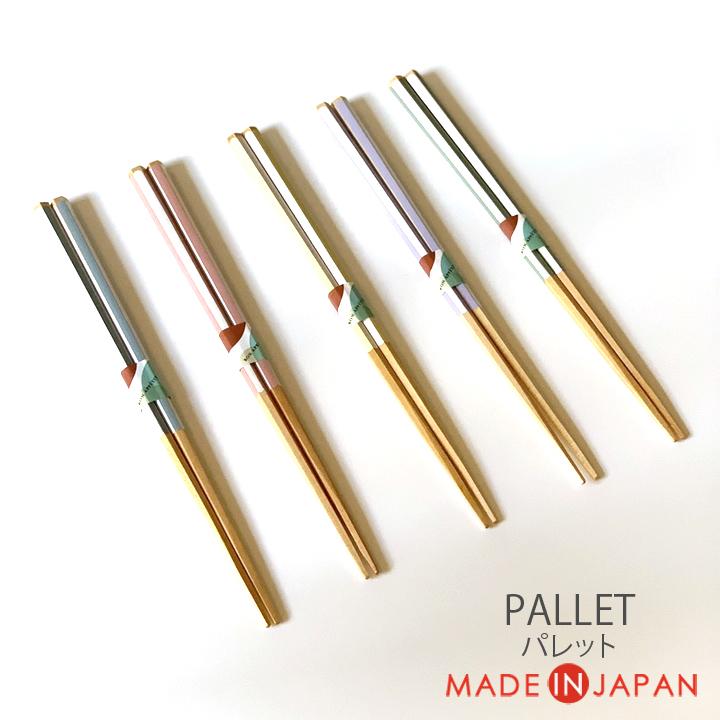 お箸 はし おしゃれ 18%OFF 使いやすい すべりにくい 安い 激安 プチプラ 高品質 つかみやすい キッチンツール ツール シンプル 大人用 キッチン 木製 下ごしらえ すべり止め 普段使い 来客用 日本製 家族 おもてなし 6角箸 パレット 木製箸 木