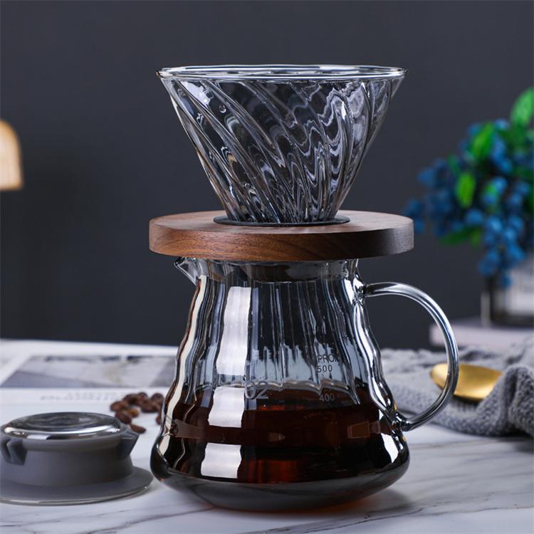 コーヒーサーバー ドリッパー セット ストアー 新着 コーヒードリッパー コーヒーサーバーセット 2~4人分 500ml 耐熱ガラス ハンドドリップ