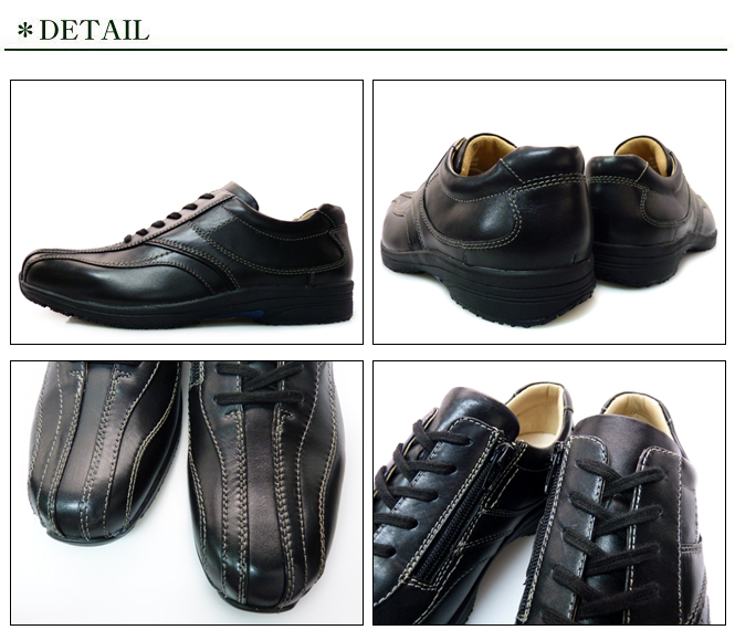 SANTA BARBARA POLO RACQUET CLUB men's walking shoes leather use Santa Barbara Polo & Racquet Club 01351 BLACK black black with side dip shoes some father's day gift